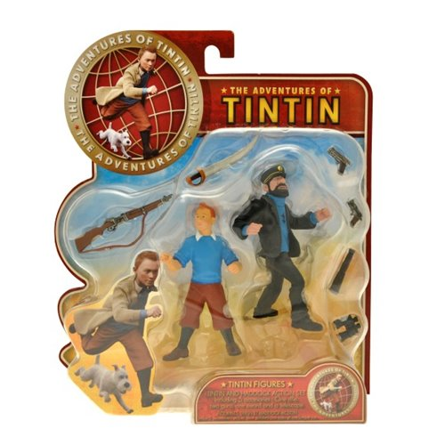 TINTIN AND HADDOCK ACTION SET
