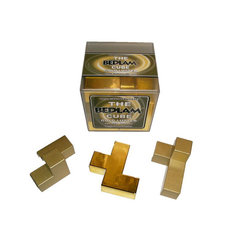 BEDLAM GOLD LUSTER CUBE LIMITED EDITION