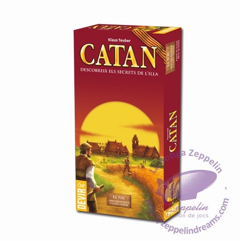 Catan 5-6 player extension catalan edition