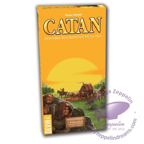 Catan - Traders & Barbarians - 5-6 player extension