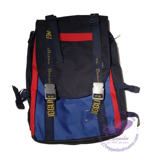 Mister Babache Big Backpack for juggling (red, navy blue, pacific blue)