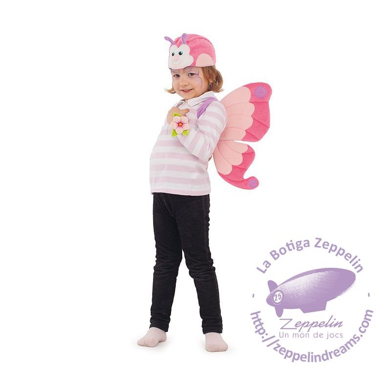 Costume Set Butterfly 3 pieces 3-5 years Trudi Carnival