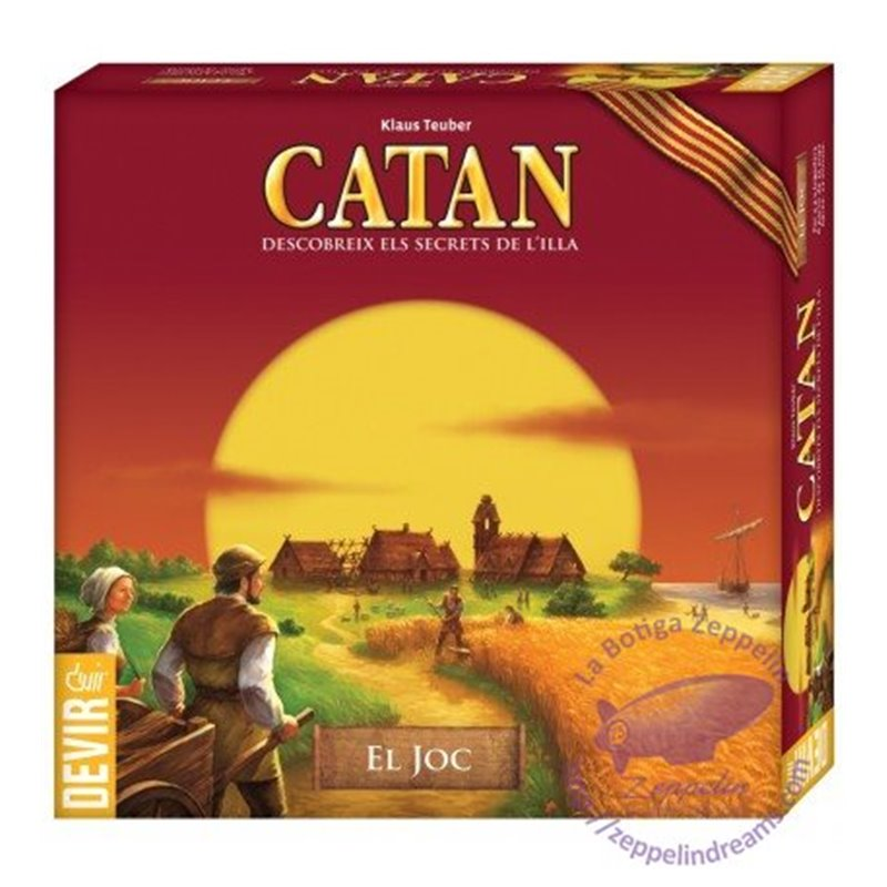 THE SETTLERS OF CATAN CATALAN EDITION