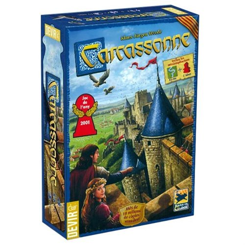 CARCASSONNE CATALAN EDITION