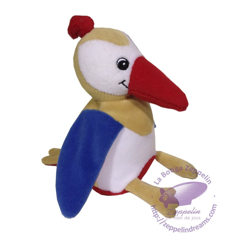 Woodpecker plush Brio