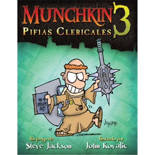 MUNCHKIN 3: PÍFIES CLERICALS