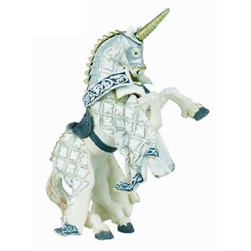 UNICORN KNIGHT'S HORSE SILVER