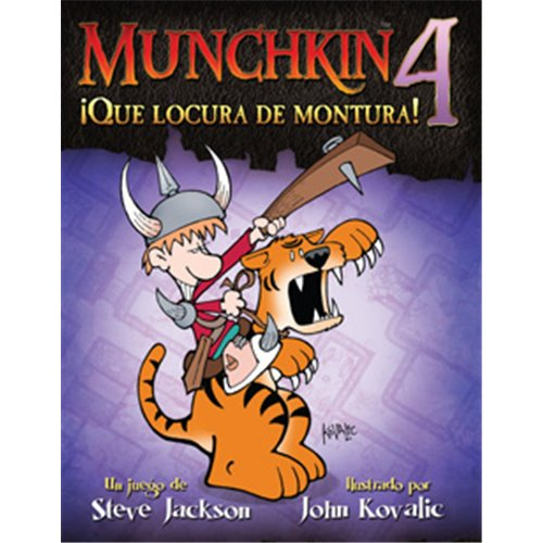 MUNCHKIN 4:THE NEED FOR STEED