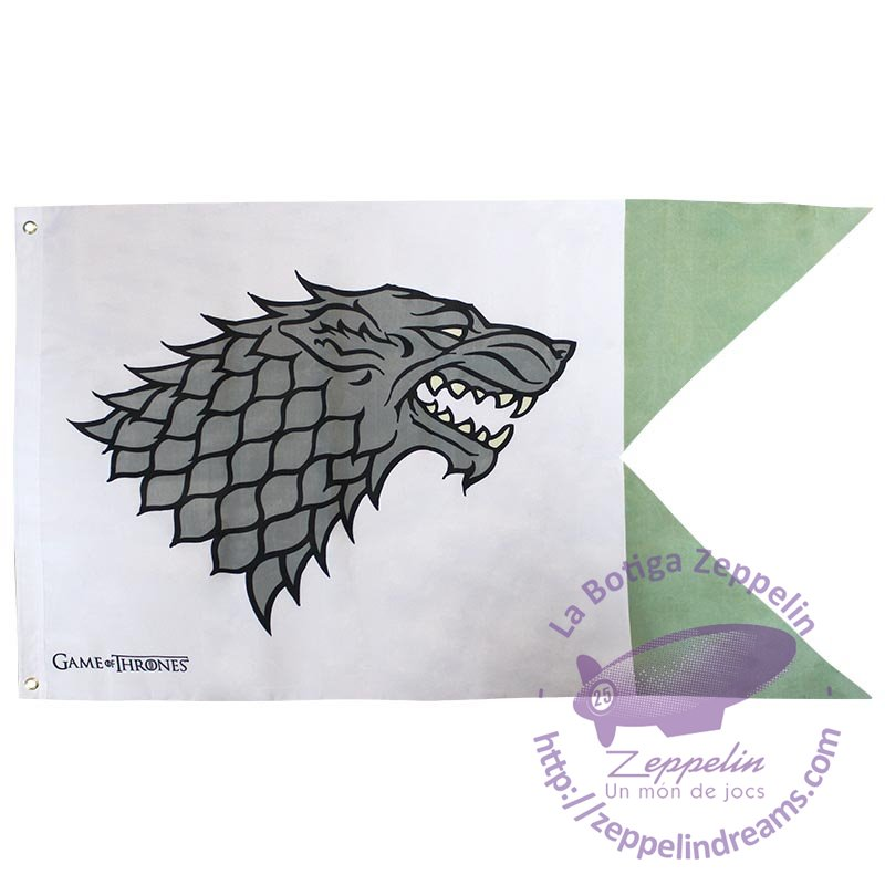House Stark Flag Game of Thrones