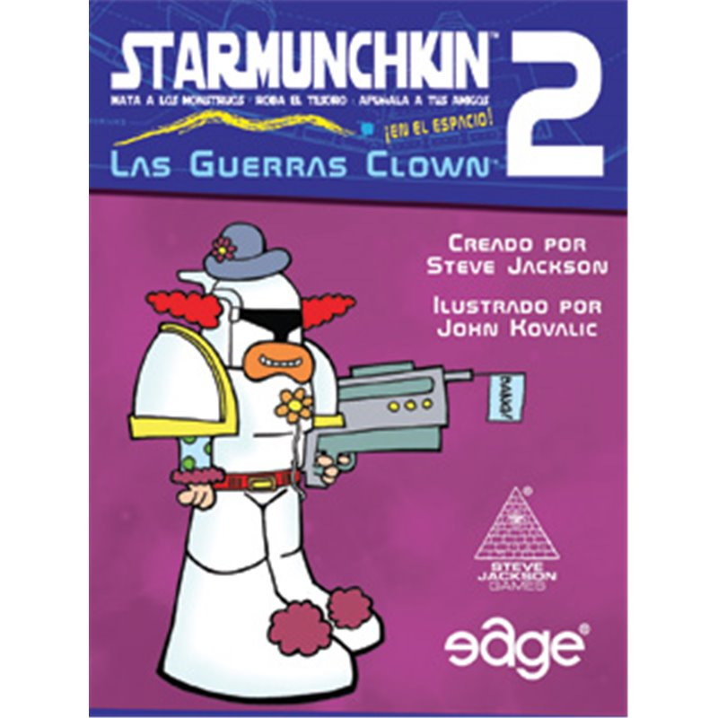 STAR MUNCHKIN 2: THE CLOWN WARS