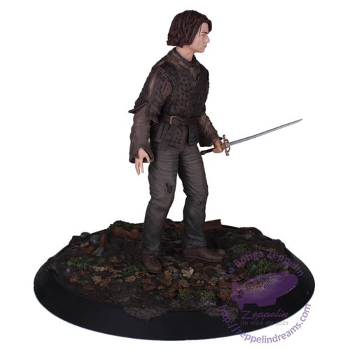 Arya Stark Resin Statue Limited Edition 28cms Game Of Thrones