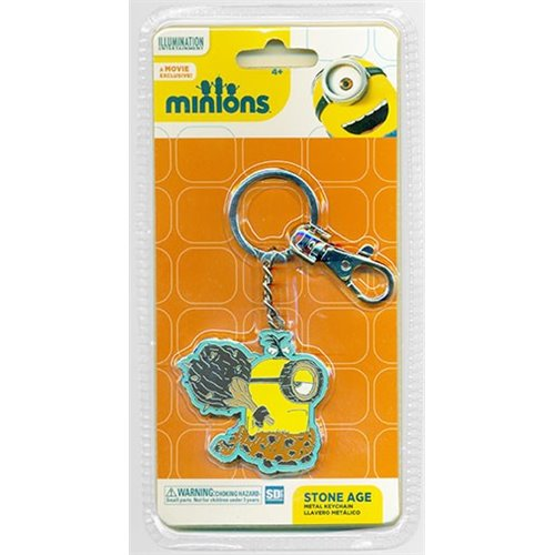 Stone Age snap hook keychain Minions
