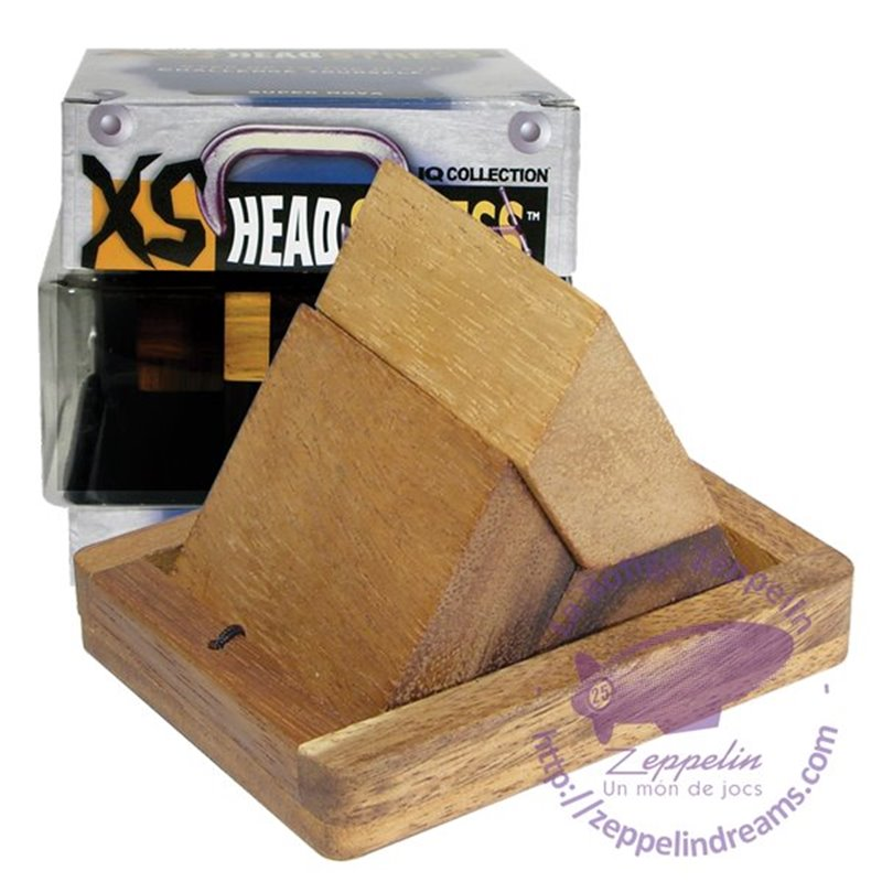 XS Headstress Wooden Puzzle Trapezoid IQ level 1