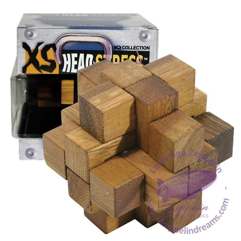 XS Headstress Wooden Puzzle Super Nova IQ level 2
