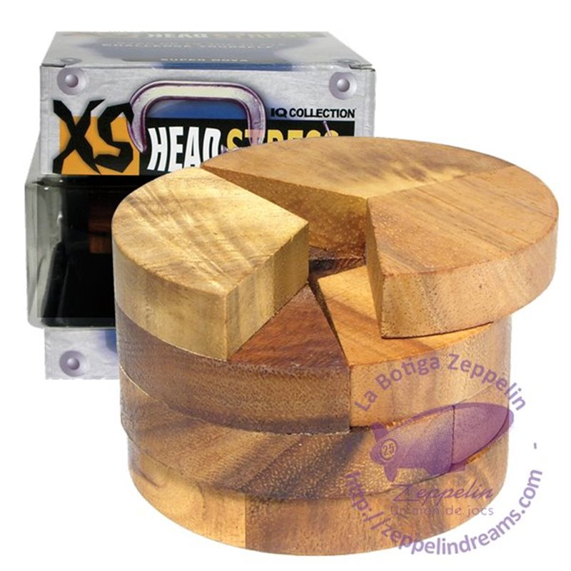 XS Headstress Wooden Puzzle Radius IQ level 1