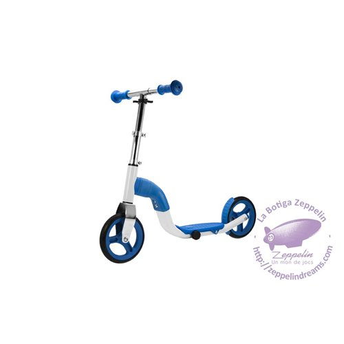 Scoobik blue scooter and bike 2-in-1