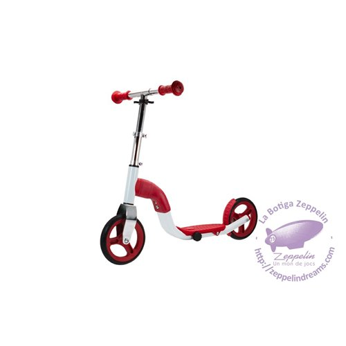 Scoobik red scooter and bike 2-in-1