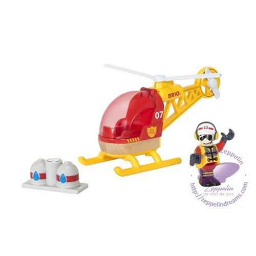 Firefigther Helicopter(Brio)