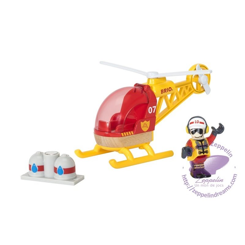 Firefigther Helicopter