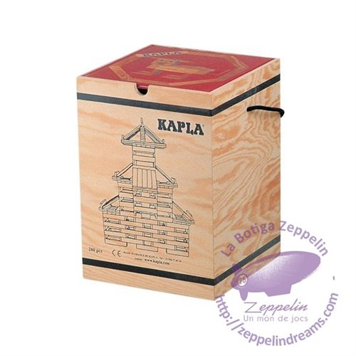 Kapla 280 pieces wooden box