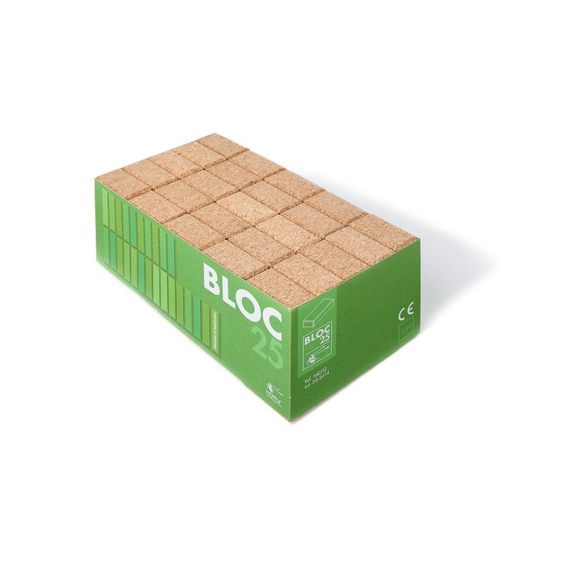 Bloc 25 cork building blocks