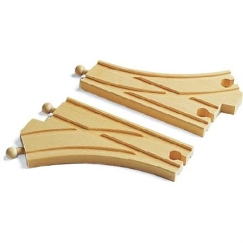 CURVED SWITCHING TRACKS(Brio)
