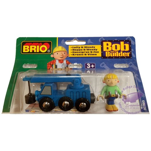 Lofty y Wendy Bob The Builder Brio