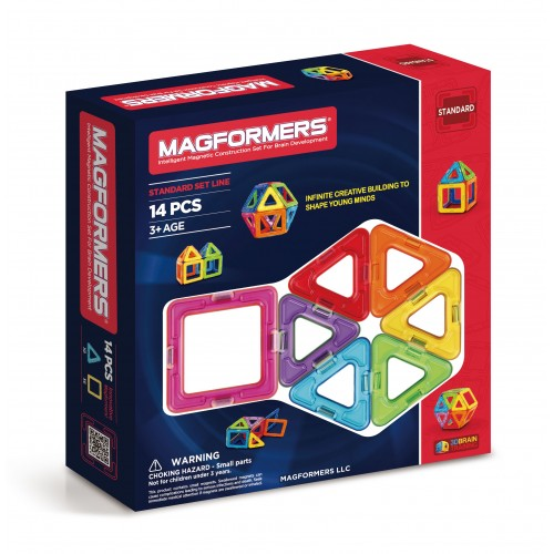 BASIC SET LINE 14 PCS-MAGFORMERS
