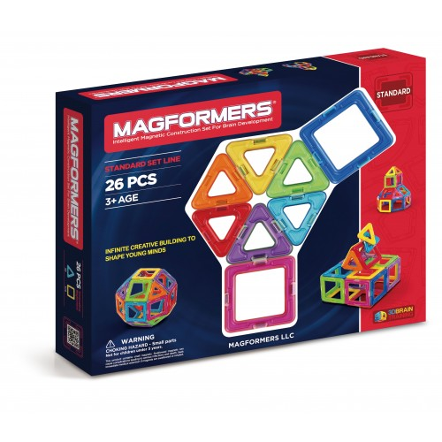 BASIC SET LINE 26 PCS - MAGFORMERS