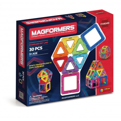 BASIC SET LINE 30 PCS-MAGFORMERS