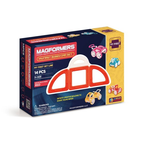 MY FIRST BUGGY CAR SET ROJO 14 PZAS - MAGFORMERS