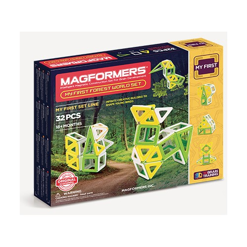 MY FIRST FOREST WORLD SET 32 PCS - MAGFORMERS