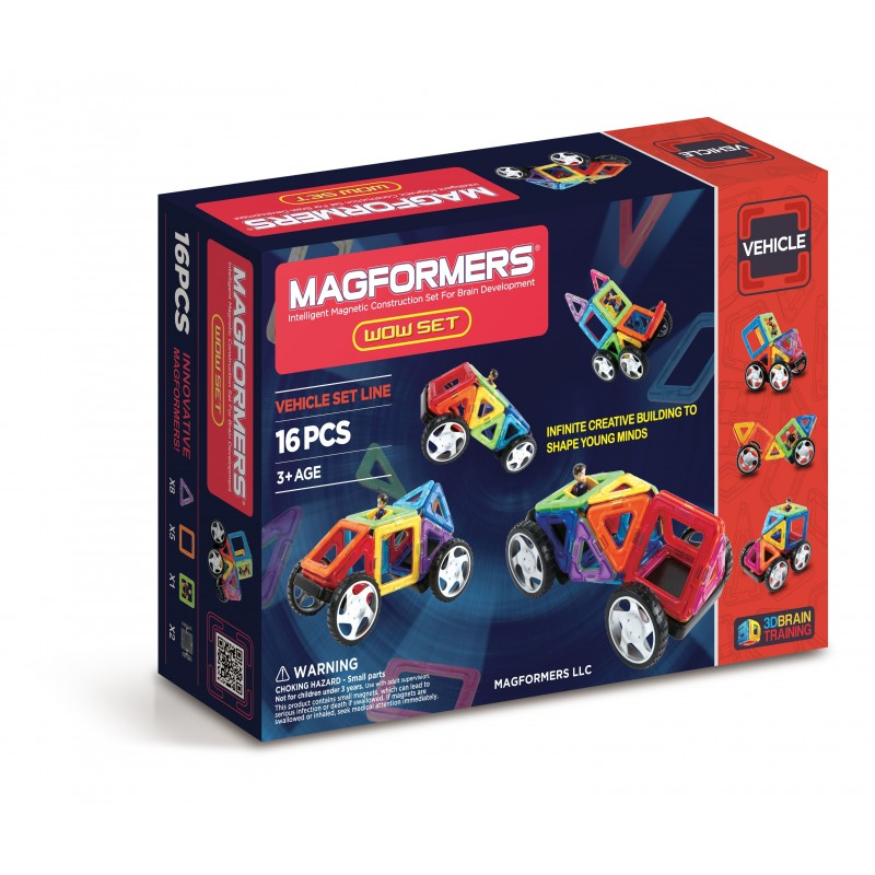 WOW SET 16 PZAS - MAGFORMERS