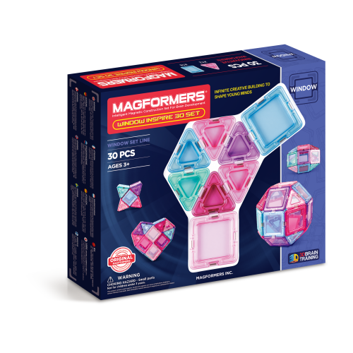 WINDOW INSPIRE 30 PZAS - MAGFORMERS
