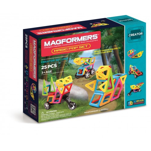 MAGIC POP SET 25 PCS-MAGFORMES