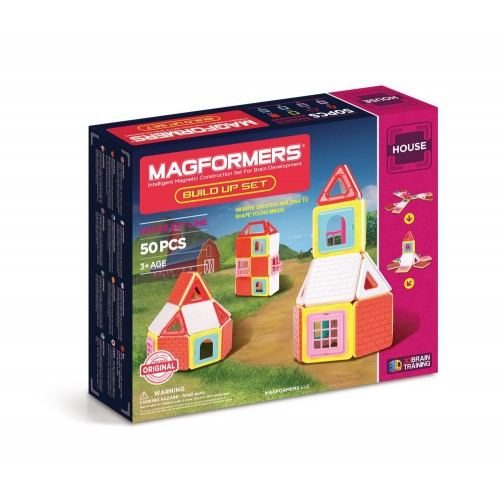 BUILD UP SET 50 PZAS - MAGFORMERS