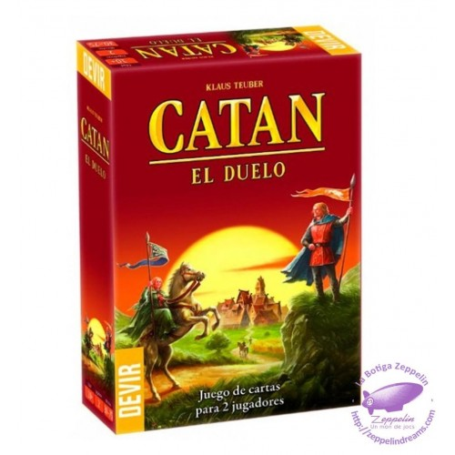 CATAN DUELO (2 players)