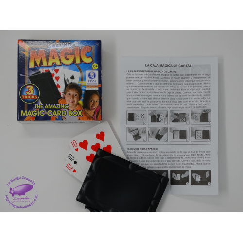 MAGIC CARD BOX-ESPECTACULAR TRUC PETIT