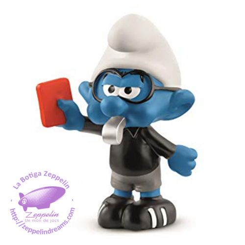 FOOTBALL SMURF REFEREE