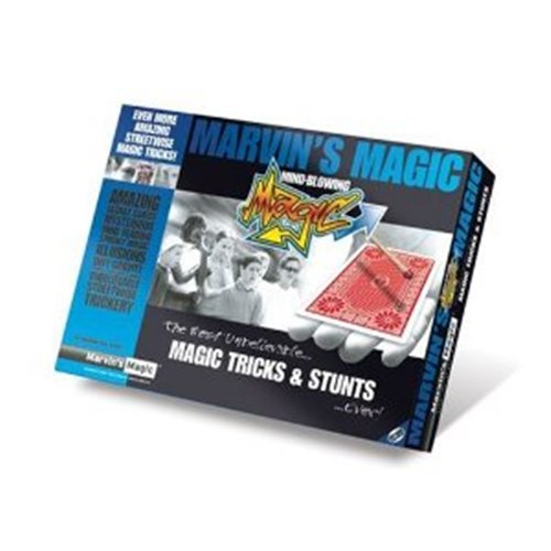 MARVIN'S MAGIC MIND BLOWING MAGIC - MAGIC TRICKS & STUNTS