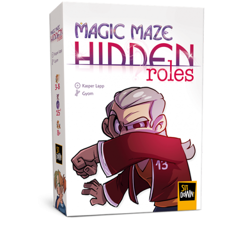 ROLES OCULTOS(Exp.2 Magic Maze)