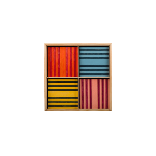OCTOCOLOR 100 planks in 8 colors