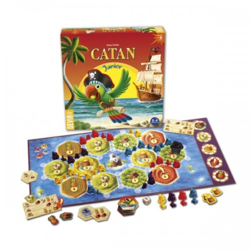 CATAN JUNIOR(Trilingue)