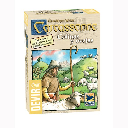 VCARCASSONNE:COLINAS Y OVEJAS: (Expansion)