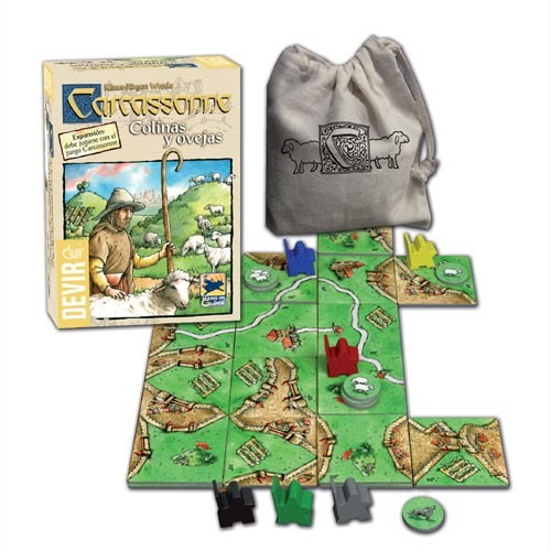 COLINAS Y OVEJAS: (Expansion Carcassonne)