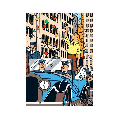 DOSSIER A4-TINTIN A AMERICA