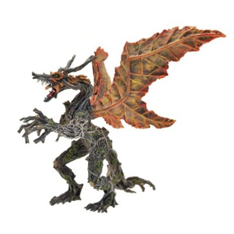AUTUMN VEGETAL DRAGON WITH ARTICULATED ARMS