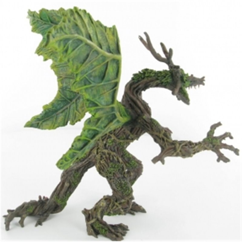 SPRING VEGETAL DRAGON WITH ARTICULATED ARMS