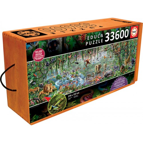 33600 PCS. VIDA SALVAJE EDUCA
