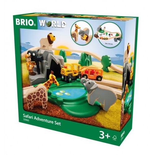 SET AVENTURA EN EL SAFARI(Brio)